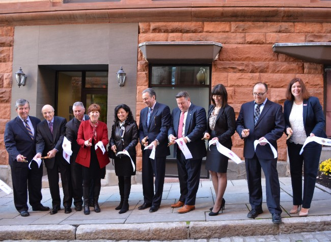 Downtown Albany Ribbon Cutting